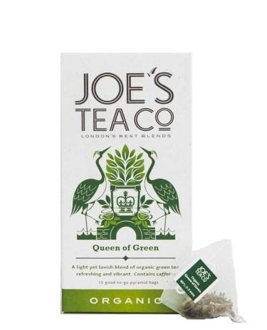 Joe´s Tea Co. Zelený čaj BIO 15 pyramidek