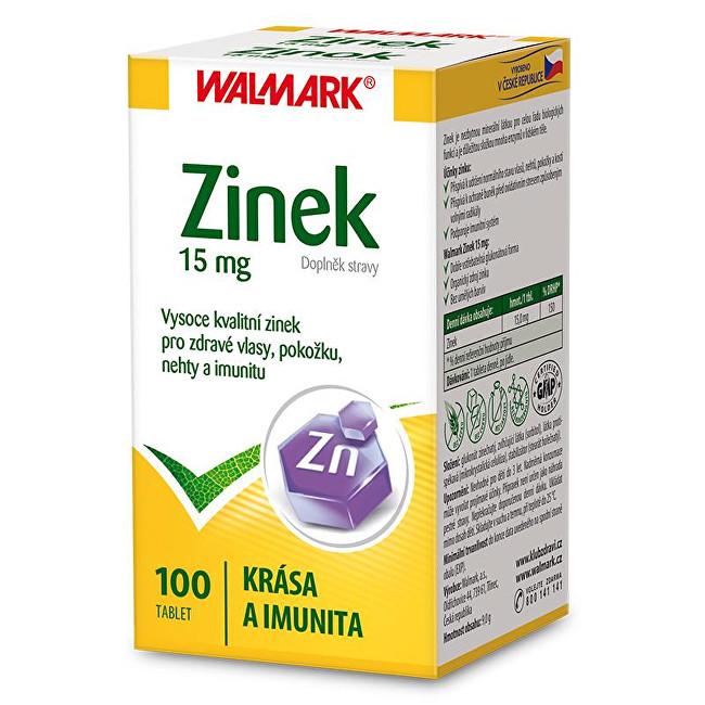 Walmark Zinek 15 mg 100 tbl.