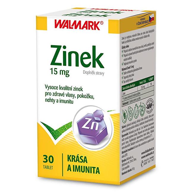 Zobrazit detail výrobku Walmark Zinek 15 mg 30 tbl.