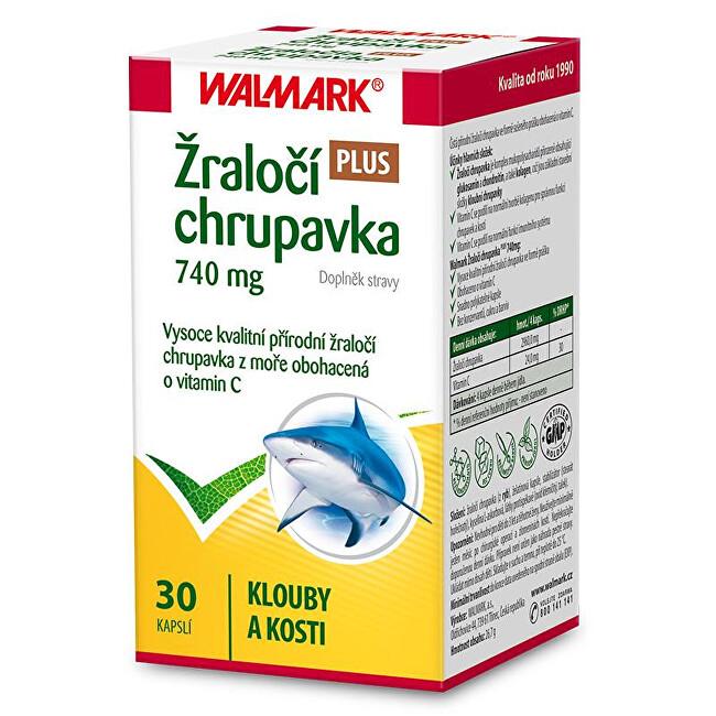 Zobrazit detail výrobku Walmark Žraločí chrupavka PLUS 740 mg 30 kapslí
