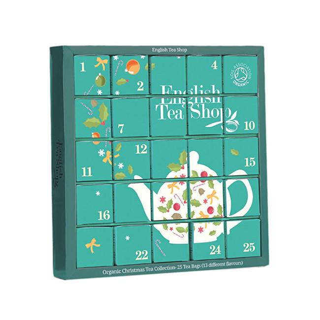 Zobrazit detail výrobku English Tea Shop Adventní kalendář modrý BIO 25 pyramidek
