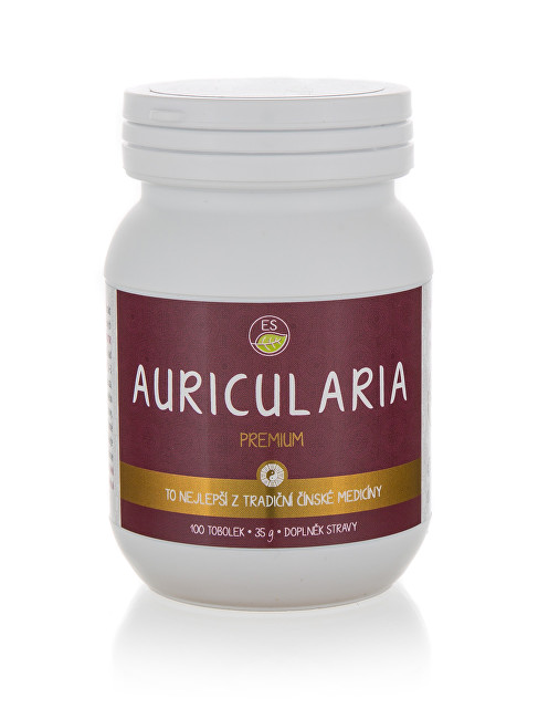 Auricularia PREMIUM 100 kapslí