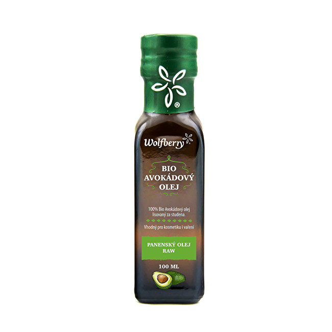 Zobrazit detail výrobku Wolfberry Avokádový olej BIO 100 ml