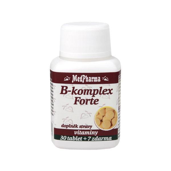 Zobrazit detail výrobku MedPharma B-komplex Forte 37 tablet