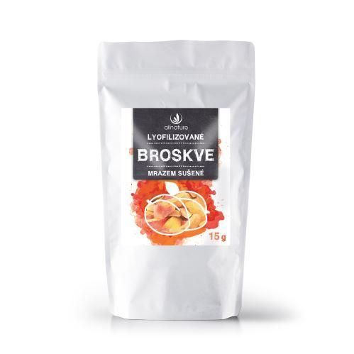 Zobrazit detail výrobku Allnature Broskev sušená mrazem plátky 15 g