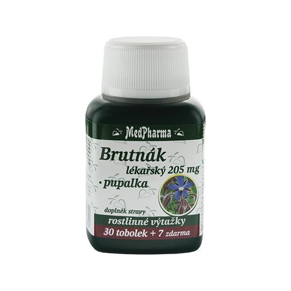 Zobrazit detail výrobku MedPharma Brutnák lékářský 205 mg + pupalka 30 tob. + 7 tob. ZDARMA