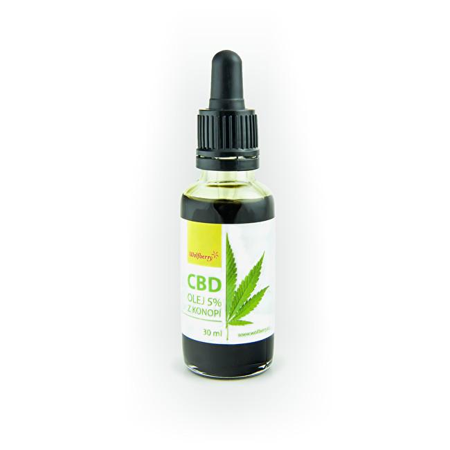 Wolfberry CBD Konopný olej 10 ml