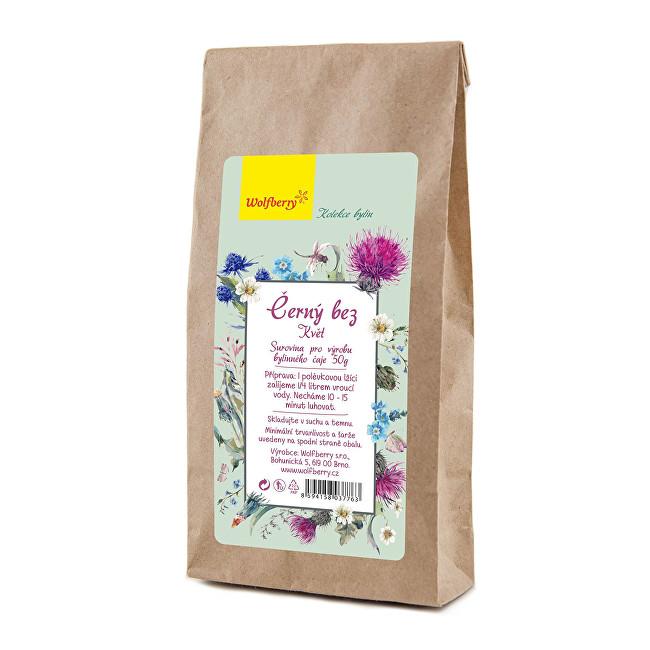 Wolfberry Černý bez bylinný čaj 50 g
