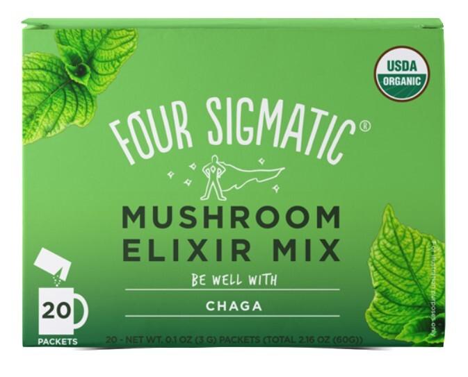 Four Sigmatic Chaga instantní nápoj 20 sáčků