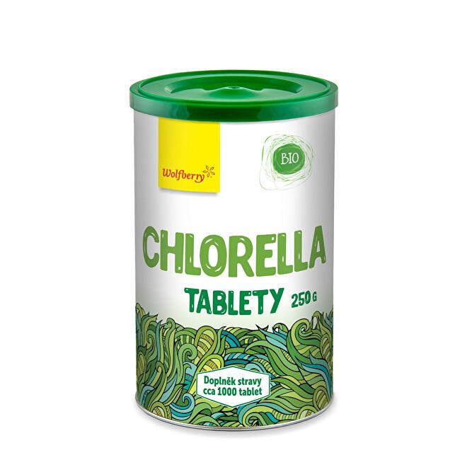 Zobrazit detail výrobku Wolfberry Chlorella BIO tablety 400 tbl (100 g)