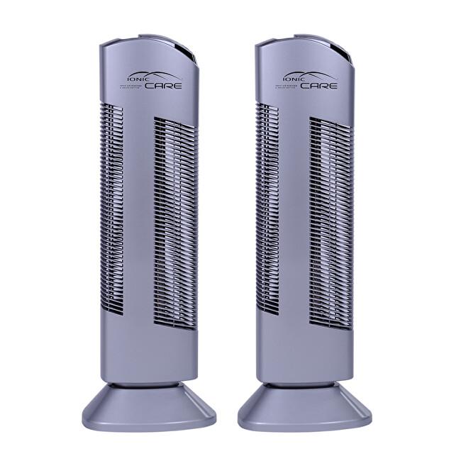 Högner Čistička vzduchu Ionic-CARE Triton X6 strieborná 2 ks (zvýhodnené dvojbalenie)