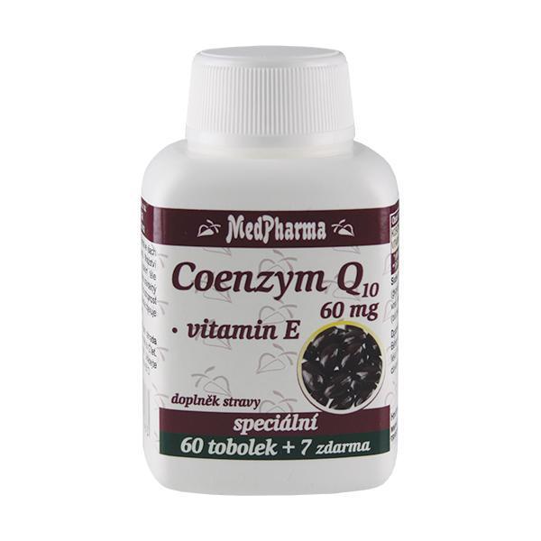 Coenzym Q10 60 mg FORTE 60 tob. + 7 tob. ZDARMA