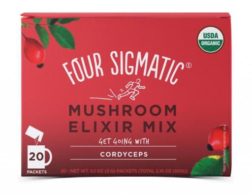 Zobrazit detail výrobku Four Sigmatic Cordyceps instantní nápoj 20 sáčků