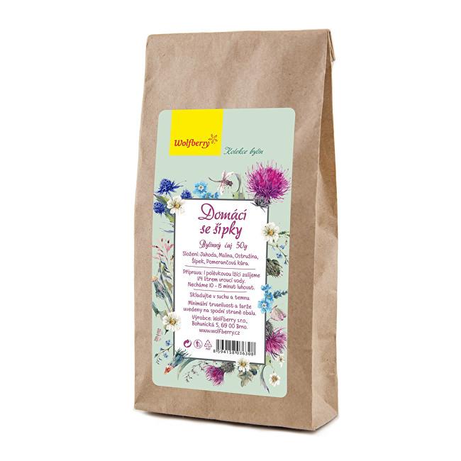 Zobrazit detail výrobku Wolfberry Domácí se šípky bylinný čaj 50 g