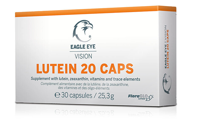 Eagle Eye Lutein 20, Vision Caps 30 kapslí