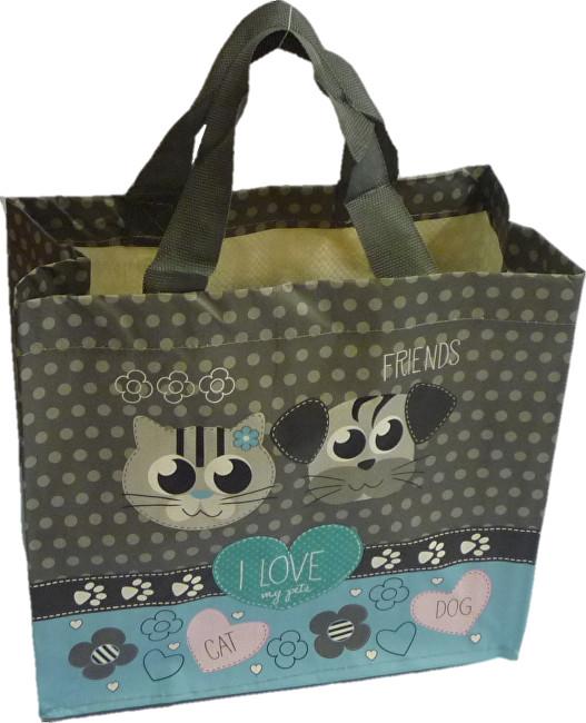 KPPS ECO taška I Love Pets modrá