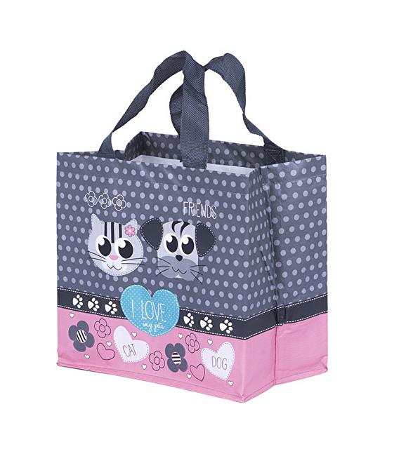 Zobrazit detail výrobku KPPS ECO taška I Love Pets růžová