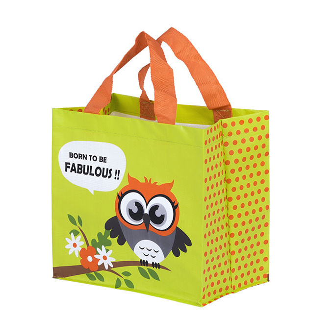 Zobrazit detail výrobku Kappus ECO taška Sova 3 barevné motivy žlutá