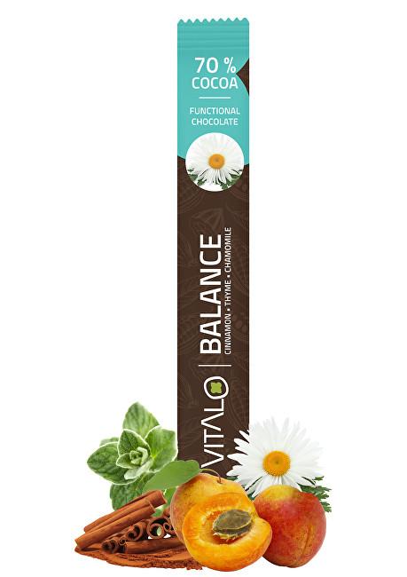 Zobrazit detail výrobku Vitalo Fukční čokoláda Balance