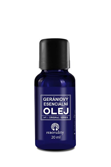 Zobrazit detail výrobku Renovality Gerániový esenciální olej 20 ml s pipetkou