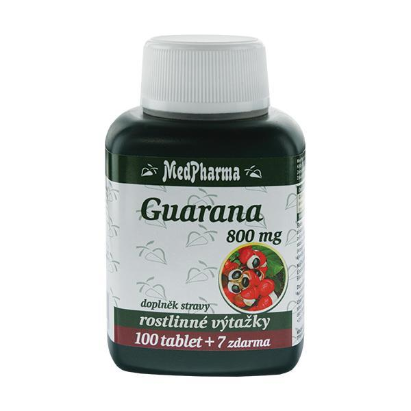 MedPharma Guarana 800mg 107 tablet