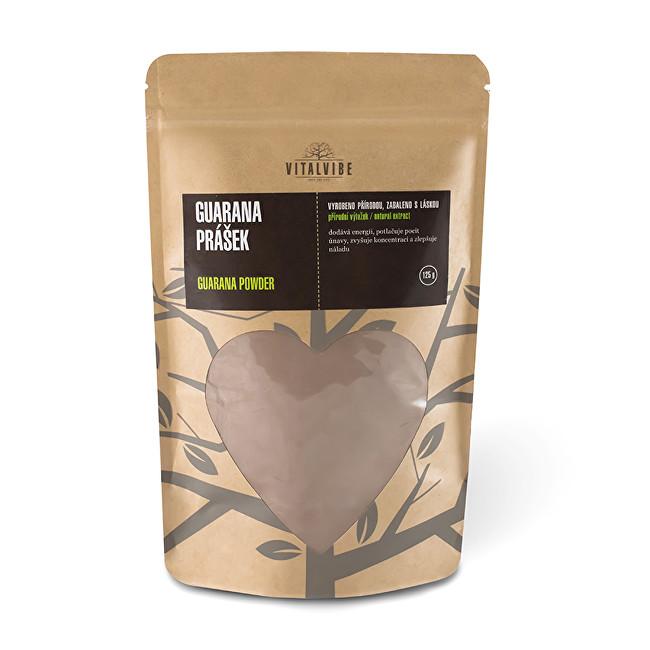 Vitalvibe Guarana prášek BIO 125 g