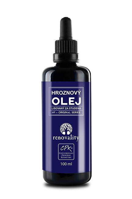 Zobrazit detail výrobku Renovality Hroznový olej za studena lisovaný ze semen 100 ml s pipetkou