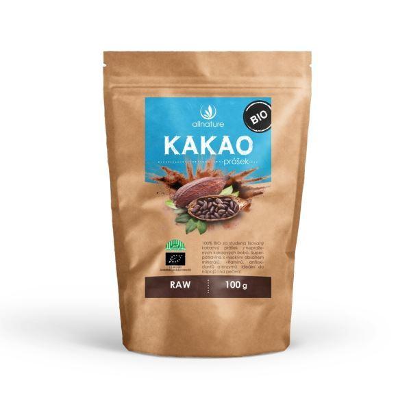 Zobrazit detail výrobku Allnature Kakaový prášek BIO RAW 100 g