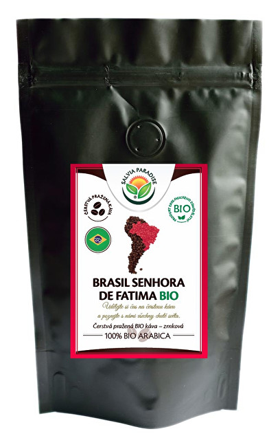 Zobrazit detail výrobku Salvia Paradise Káva - Brasil Senhora de Fatima BIO 250 g