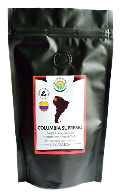 Zobrazit detail výrobku Salvia Paradise Káva - Columbia Supremo 100 g
