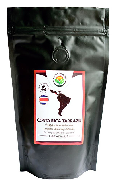 Zobrazit detail výrobku Salvia Paradise Káva - Costa Rica Tarrazu 100 g