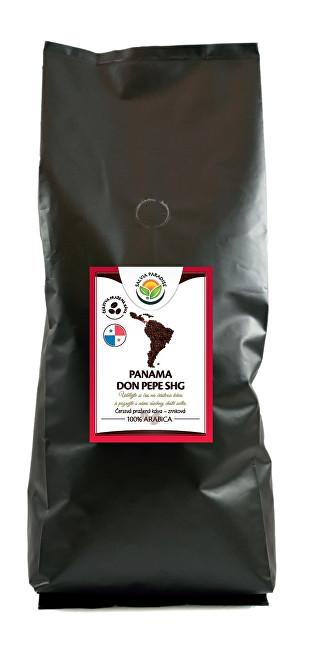 Zobrazit detail výrobku Salvia Paradise Káva - Panama Don Pepe SHG 1000 g
