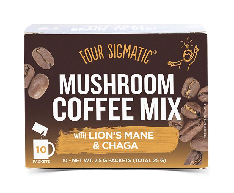 Káva s Lion´s mane instantní nápoj 10 sáčků