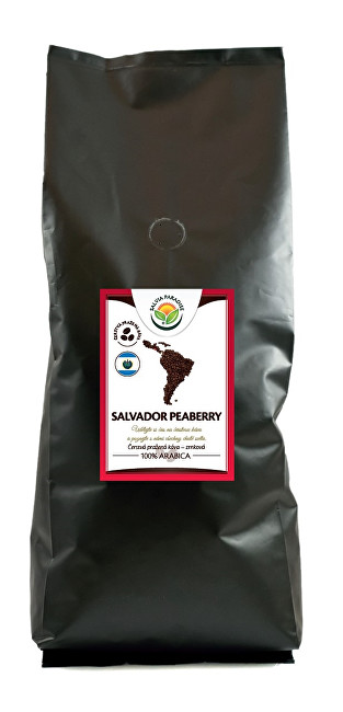 Zobrazit detail výrobku Salvia Paradise Káva - Salvador Peaberry 250 g