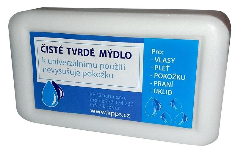 Kappus Koupelové Čisté tvrdé mýdlo - bílé 150 g