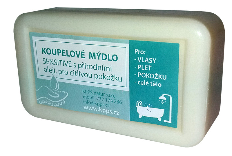 Kappus Sensitive de Marseille přírodní mýdlo 150 g