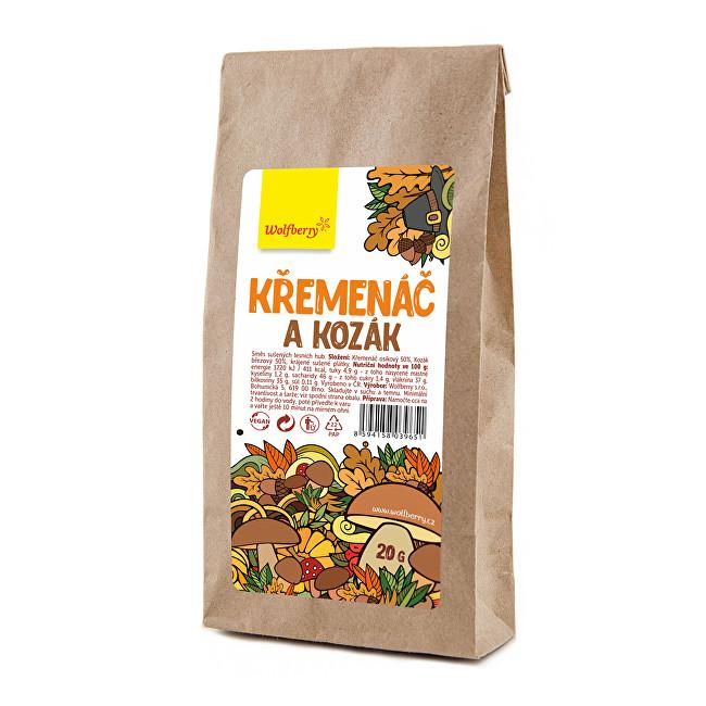 Wolfberry Křemenáč a Kozák - sušené huby 20 g