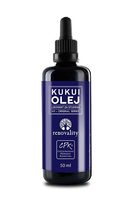 Zobrazit detail výrobku Renovality Kukui olej za studena lisovaný ze semen 50 ml
