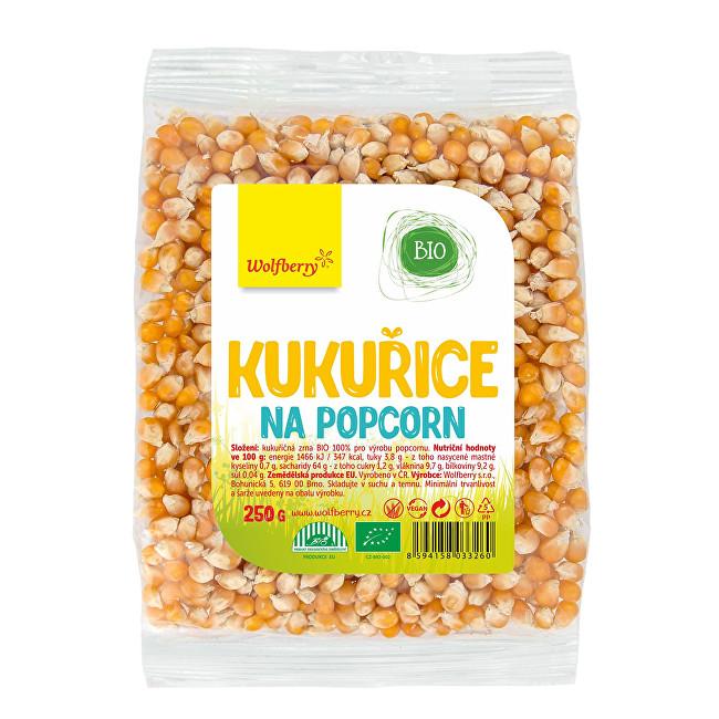 Wolfberry Kukuřice na popcorn BIO 250 g