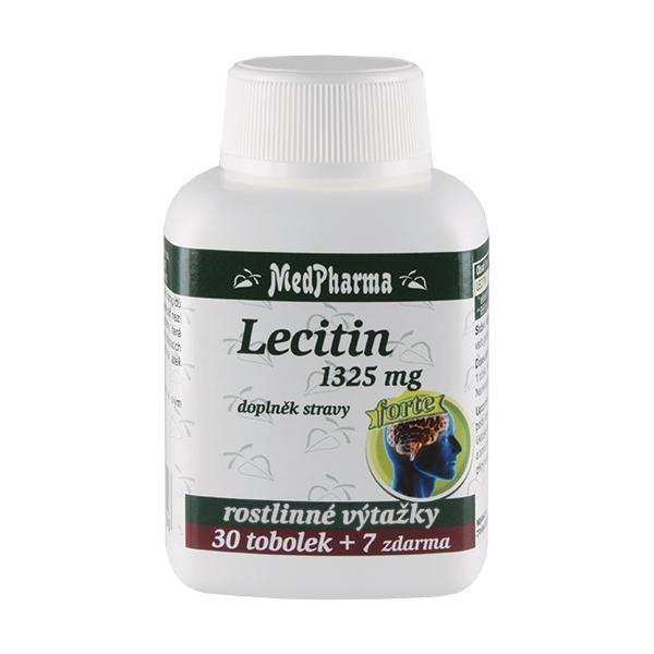 Zobrazit detail výrobku MedPharma Lecitin 1325 mg Forte 30 tob. + 7 tob. ZDARMA