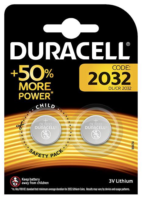 Zobrazit detail výrobku Duracell Speciální lithiové baterie DL 2032 B2