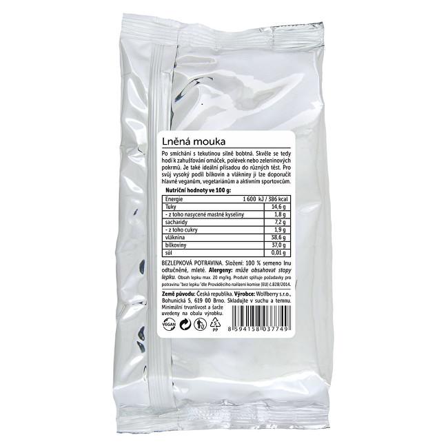 Zobrazit detail výrobku Wolfberry Lněná mouka 400 g