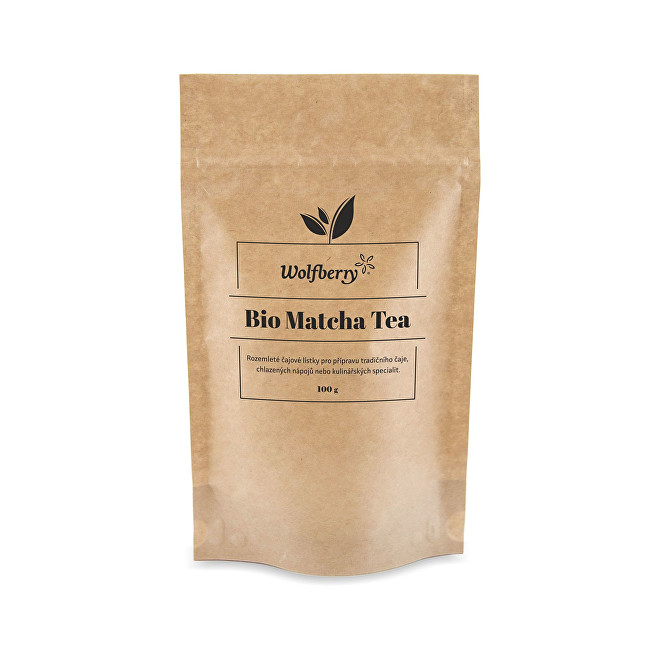 Wolfberry Matcha tea BIO 100 g
