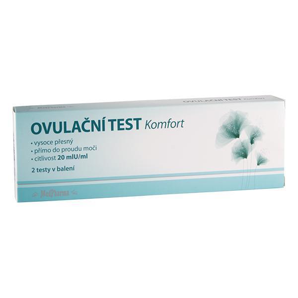 Ovulační test Komfort 20mIU/ml 2 ks