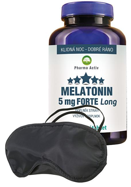 Melatonin 5 mg Forte 100 tablet + zdarma škraboška