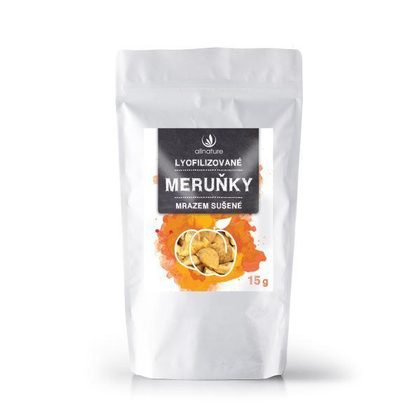 Zobrazit detail výrobku Allnature Meruňka sušená mrazem kousky 10 g