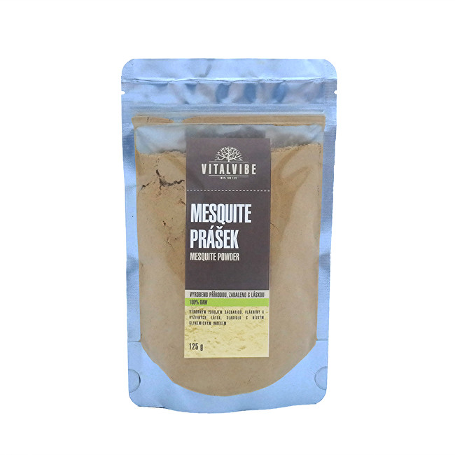 Zobrazit detail výrobku Vitalvibe Mesquite prášek 125 g
