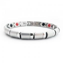 Zobrazit detail výrobku Euro Trade Plus Multifunkční magnetický náramek Stříbrný 20 cm