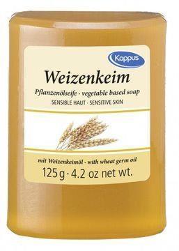 Mýdlo s přírodním olejem Pšeničné klíčky 125 g