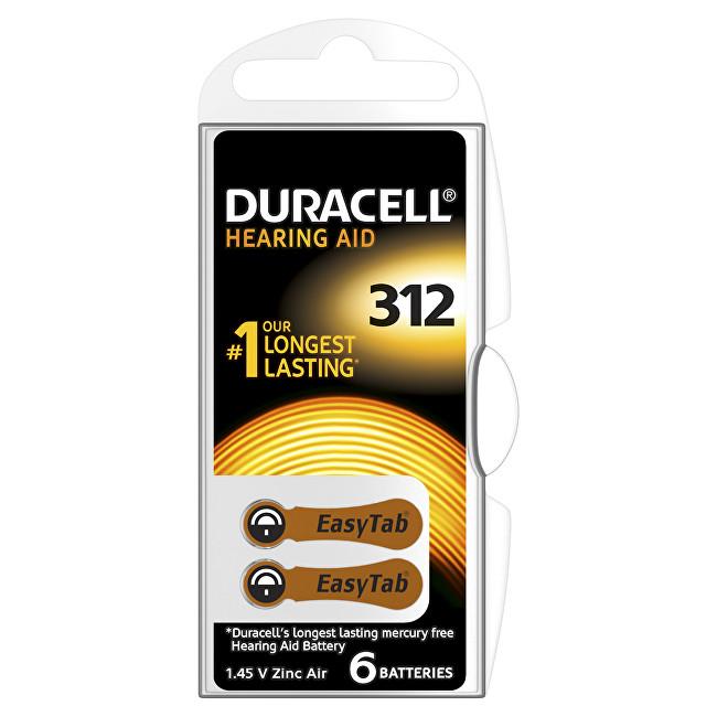Zobrazit detail výrobku Duracell Naslouchátkové baterie Specialites Hearing Aid 312 6p